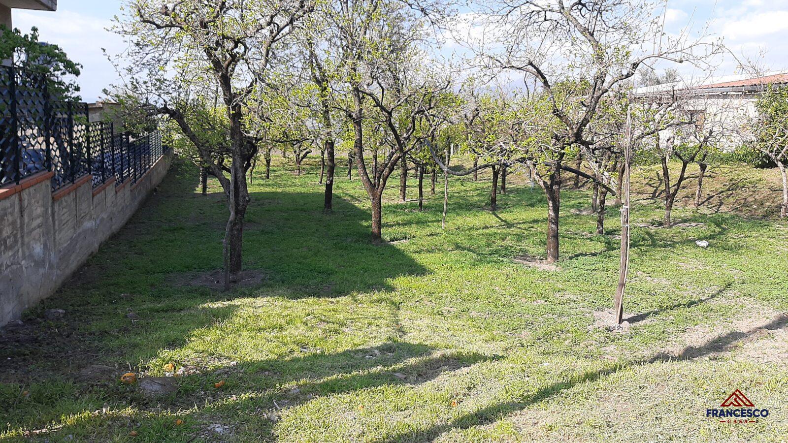 Terreno agricolo in vendita a Sant'Egidio del Monte Albino via Castello Troiano